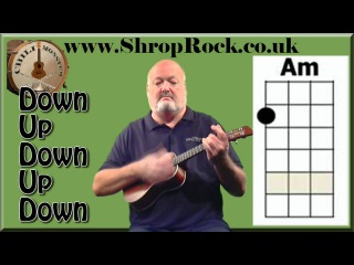 How To Play Really Easy Ukulele (1a) Strumming pattern