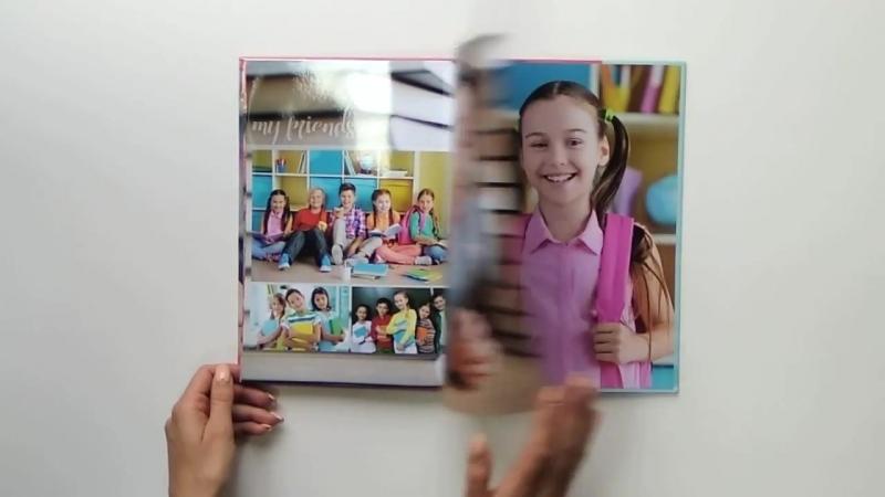 Фотоальбом в твердой обложке