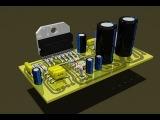 Сборка интегрального усилителя мощности на микросхема TDA7293 своими руками / vk.com/mb_workshop