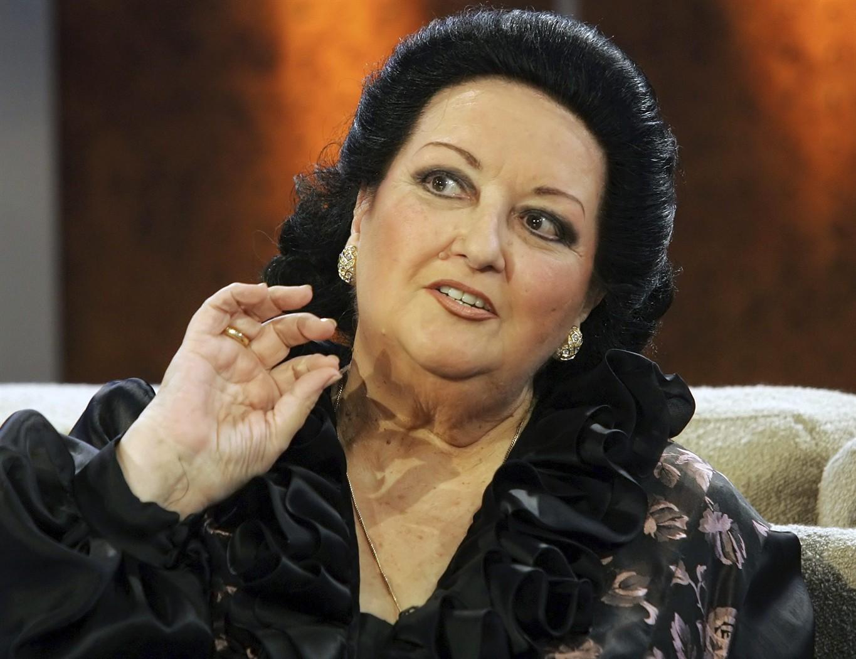 Умерла оперная певица Монтсеррат Кабалье
