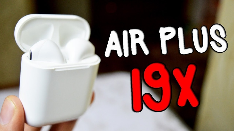 AIR PLUS I9X Лучшая копия Apple AIrpods? КОНКУРС БЕЗ РЕПОСТОВ