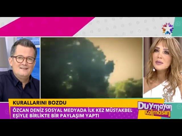 Özcan Deniz Kurallarını Bozdu Sevgilisi Feyza Aktan ile İlk Paylaşımını Yaptı