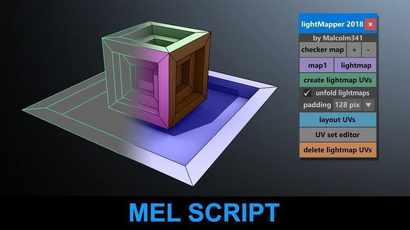 Light Mapping Toolbox for Maya