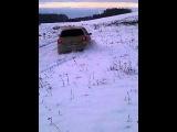 пежо 307 могилев зимний дрифт Толян рассекает по полю