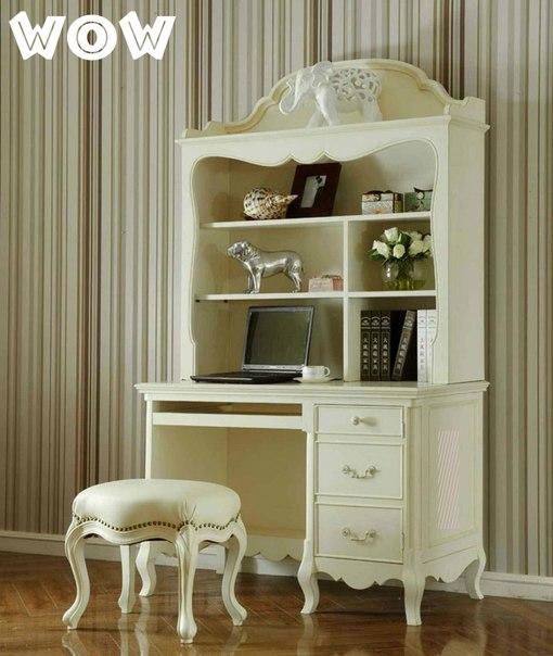 Рабочий домашний кабинет в стиле прованс