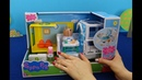 Peppa Pig en français. Centre médical mobile de Peppa Pig. Nouveaux jouets hôpital Peppa Pig
