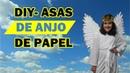 DIY - Asas de anjos feitas de papel