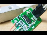 Весы на arduino и калибровка тензодатчика с HX711