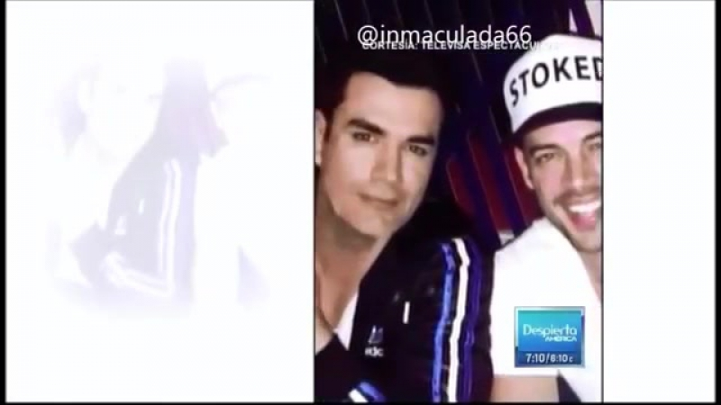 David Zepeda y William Levy preparan proyectos juntos
