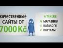 Сайт визитка за 7000Kč лето