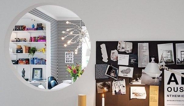 Классика скандинавского стиля: квартира из Швеции с нестандартной планировкой    ❤️