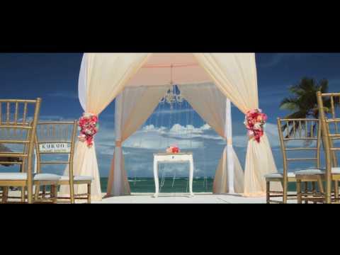 Dana Alex Punta Cana Wedding at Kukua Restaurant (trailer)