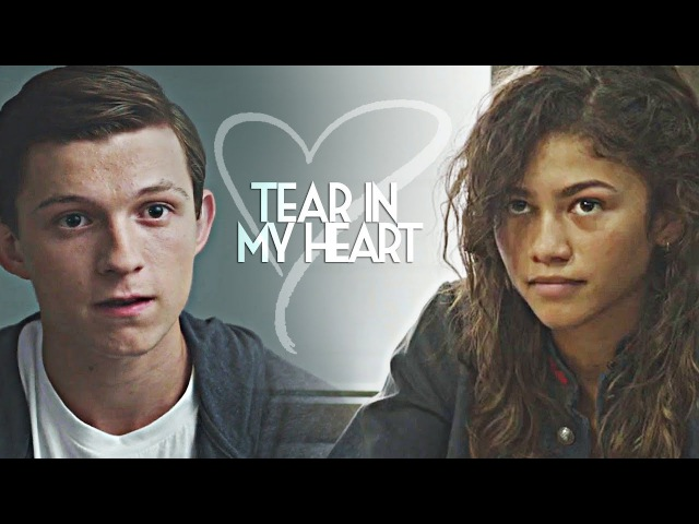 Tear in my heart || peter/michelle [spider-man: homecoming]