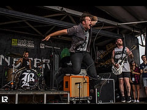 Beartooth - Set Me On Fire (Live at Warped Tour Toronto 2014)