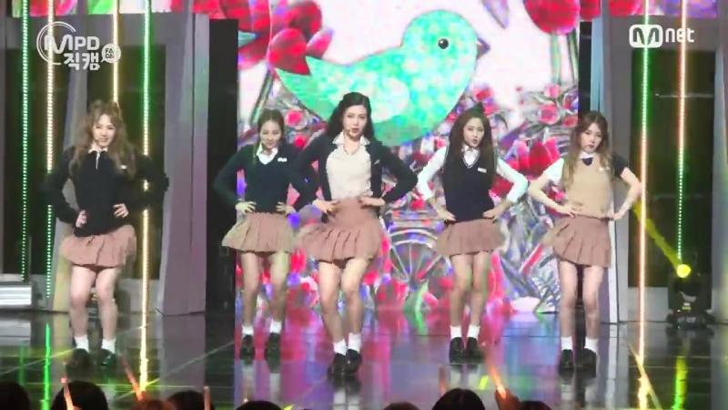 150910 Red Velvet – Huff'n'Puff @ M! Countdown MPD Fancam