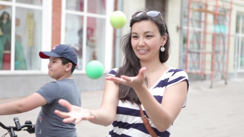 Флешмоб jugglingflash в Самаре 19 05 2018