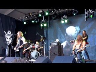 Enslaved - Ethica Odini + Raidho @ Into The Grave, Leeuwarden 2012