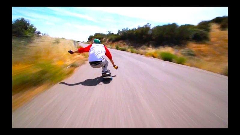 Downhill longboarding on highest speed by Cloud Ride!