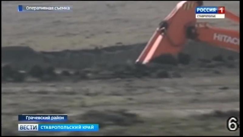 Земли Ставрополья захватывают «черные копатели»