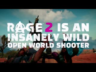 What is rage 2؟ official trailer