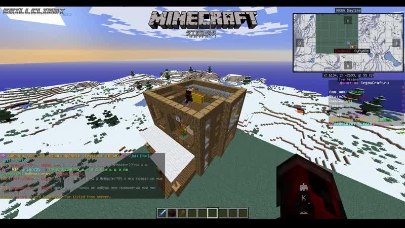 Minecraft- SyPyaRa строит домишко