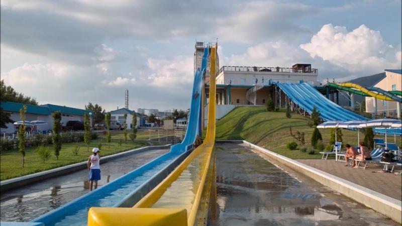 Аквапарк Золотая бухта в Геленджике. 2012 год.