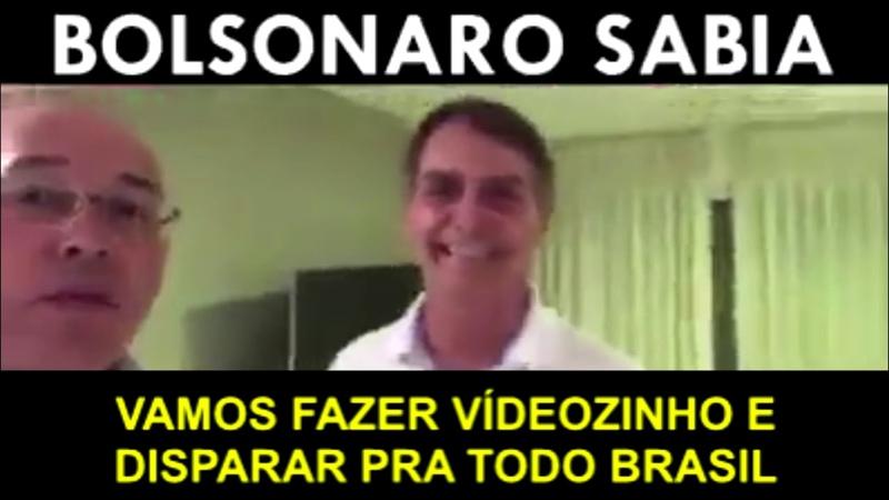 Vamos fazer vídeozinho e disparar pra todo Brasil diz dono da Havan ao lado de Bolsonaro