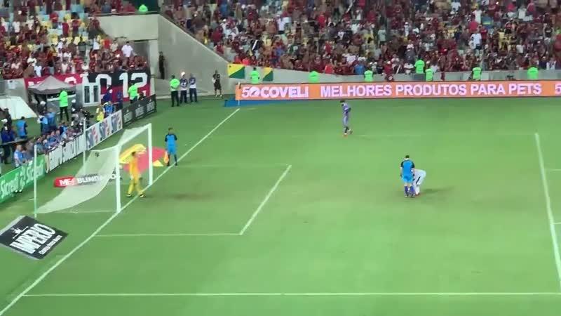 Disputa de pênaltis Flamengo x Vasco Taça Rio 2019