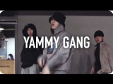 1Million dance studio Yammy Gang - A$AP Ferg (ft. A$AP Mob & Tatiana Paulino) / Junsun Yoo Choreography