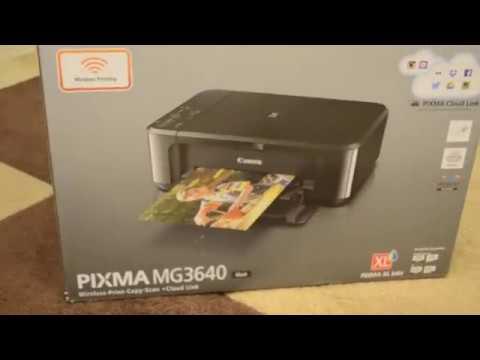 Видеообзор на Струйное МФУ Canon PIXMA MG3640 Black черный принтер копир сканер