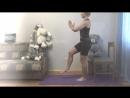 Фитнес дома. 5 упражнений для тренировки бёдер и ягодиц со стулом