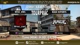 TourPracc Wise Owl vs. Rage eSports Map 1 - Cache 13.07.2018