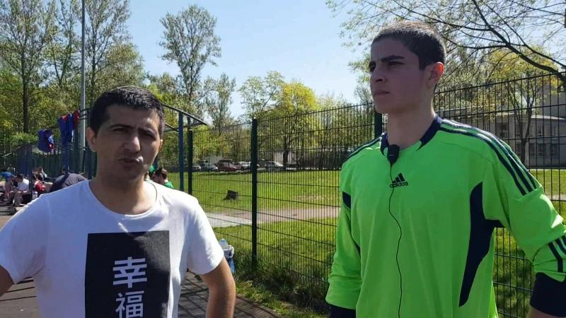 Аскер Хубиев и Эшгин Мамедов (Космонавтов), 13 мая. Квалификация