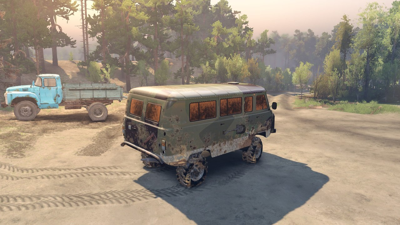"УАЗ 2206 ""Буханка"" для Spintires - Скриншот 2"