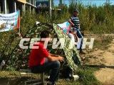 Без крыши над головой а теперь и без еды: обманутые дольщики объявили голодовку