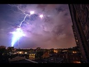 Это стоит увидеть! Шаровая молния снята на камеру. Странное явление природы перезалив