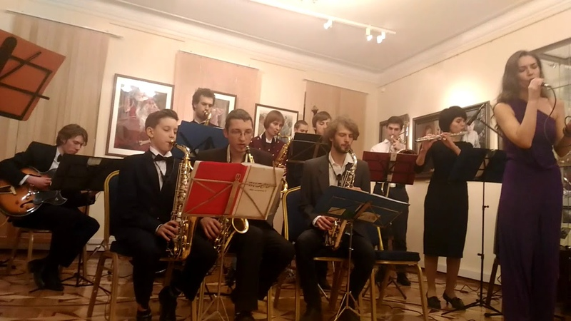 35. All the things you are Ella Fitzgerald - исп. Ирина Коропатнюк и Moscow Swing College Band