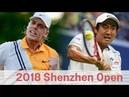 Denis Shapovalov vs Yoshihito Nishioka 西岡良仁 Highlights SHENZHEN 2018