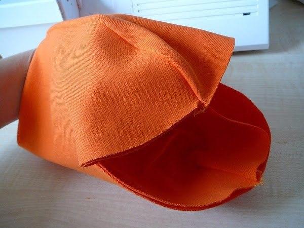 Как сшить трикотажную двойную шапку