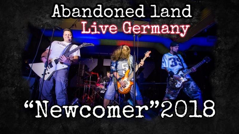Abandoned Land - Live Newcomer 2018 - E-Werk Erlangen 17.11.2018