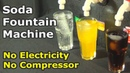 Soda Fountain Machine without Electricity | How to Make Soda Fountain Machine without Compressor
