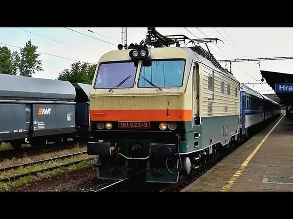 Vlaky Hranice na Moravě ● 08.06.2018