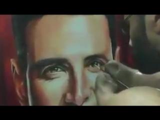 «Вдохновенная живопись». Акшаю Кумару от преданного художника - Dhaval Khatri