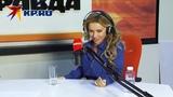 Лера Туманова на радио Комсомольская правда в Иркутске