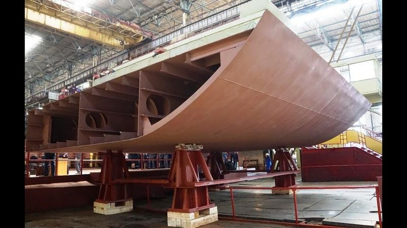 В Хабаровском крае начали строительство грузопассажирских паромов для Сахалина