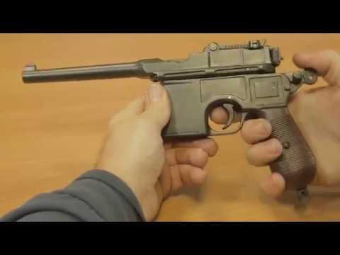 DENIX сборка - макет пистолета Маузер DE-1024