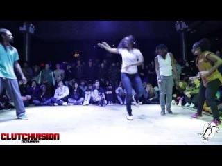 Just Sole & Princess Di vs Toyin & Tasha | House Finals JD USA 2014 | #SXSTV | Clutchvision Network| Danceproject.info