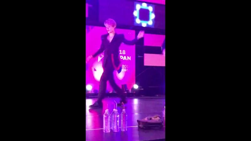 FANCAM | 15.04.18 | Jun - Make it nasty @ KCON JAPAN 2018, STAGE LIVE