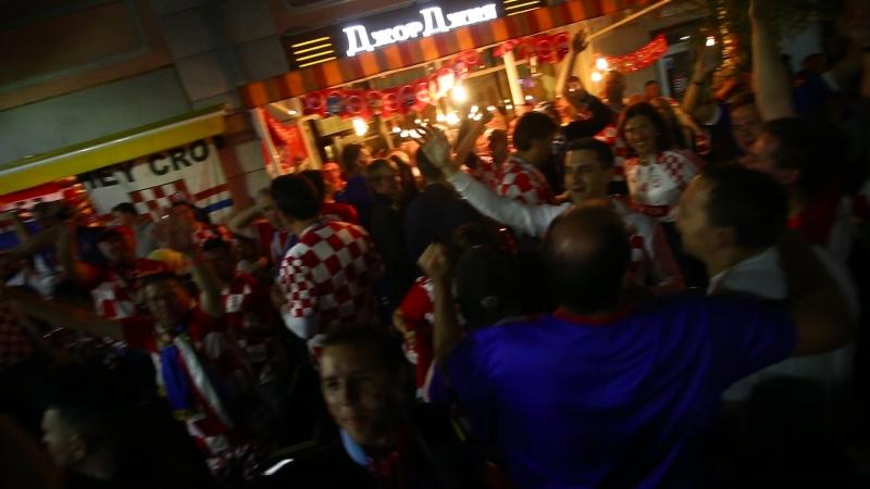 Хорватия после победы над Аргенитиной 30 (Ни Но 21.06.2018)