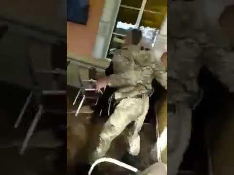 Воина света одели на кукан Облившему зелёнкой Бережную набили харю Опубликовано 14 окт 2018 г